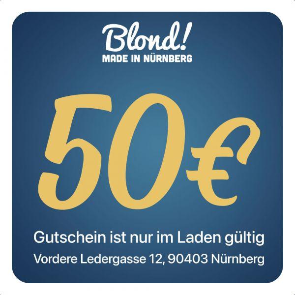 Gutschein Laden Nürnberg/München 50€
