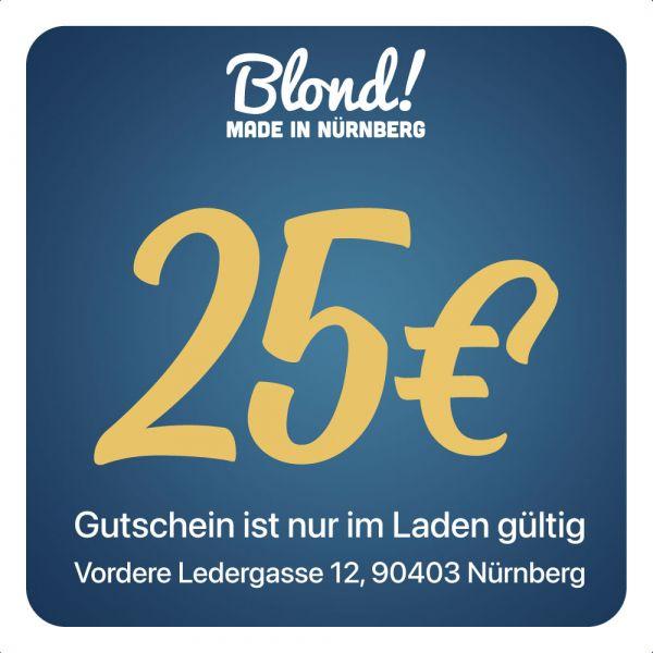 Gutschein Laden Nürnberg/München 25€