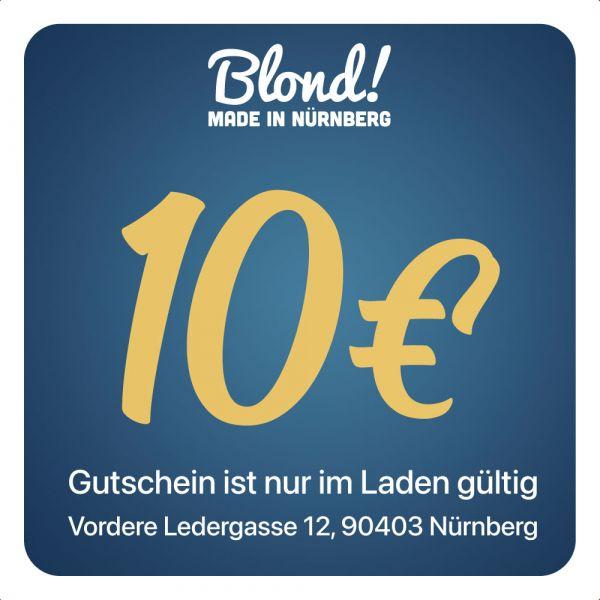 Gutschein Laden Nürnberg/München 10€